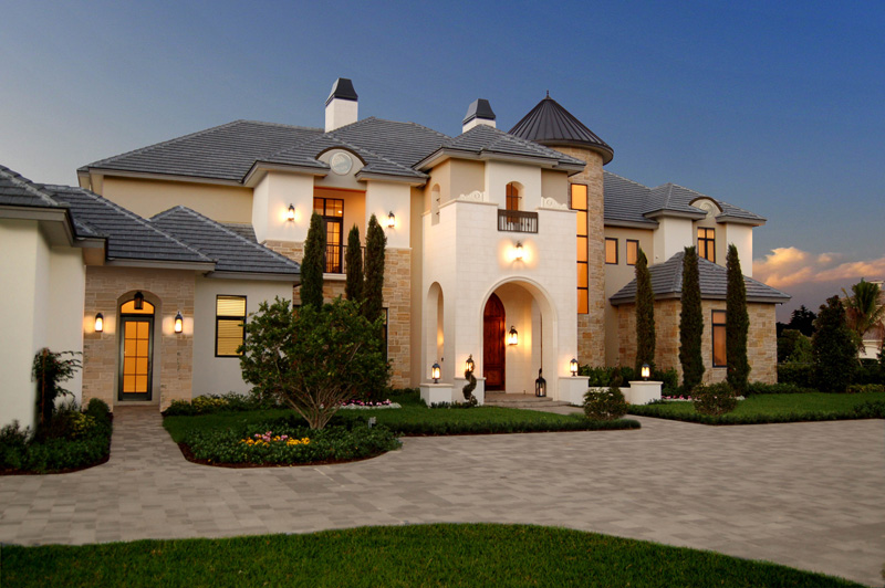 Jagged Creek Chateau Style Home