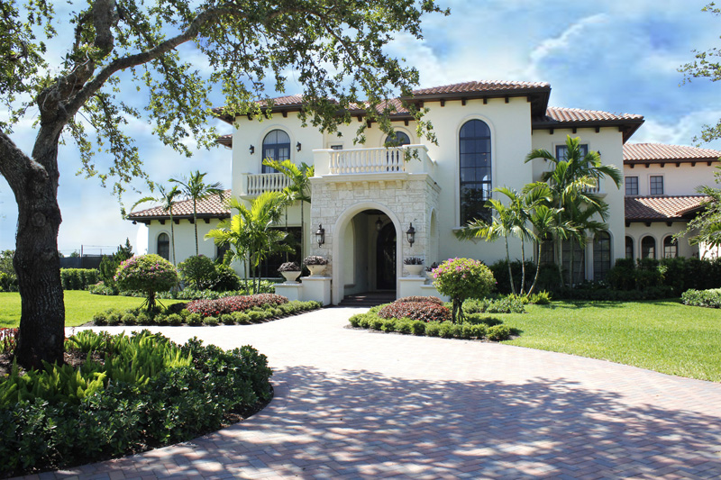Quiet Vista Spanish Colonial Style Home